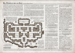 El Templo de la Luz - Dungeon Hack