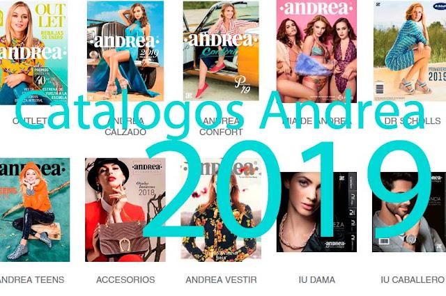 Catalogos digitales ANDREA Primavera 2019  ( completo )