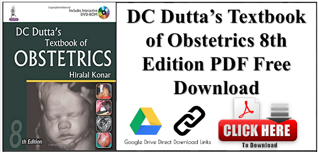DC Dutta's Textbook of Obstetrics 8th Edition PDF Free Download