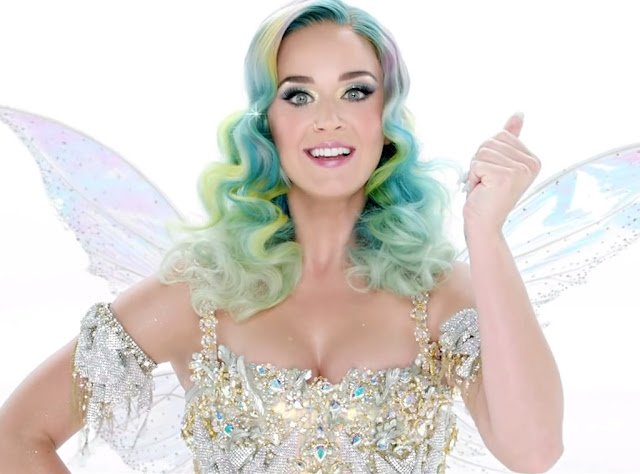 Katy Perry glitters for the H&M Holiday 2015 Commercial