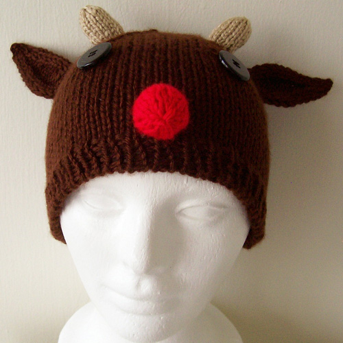 Rudolph Hat - Free Pattern