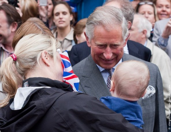 Prince Charles comments on Prince George's first day of school