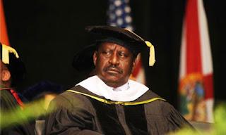 raila degree