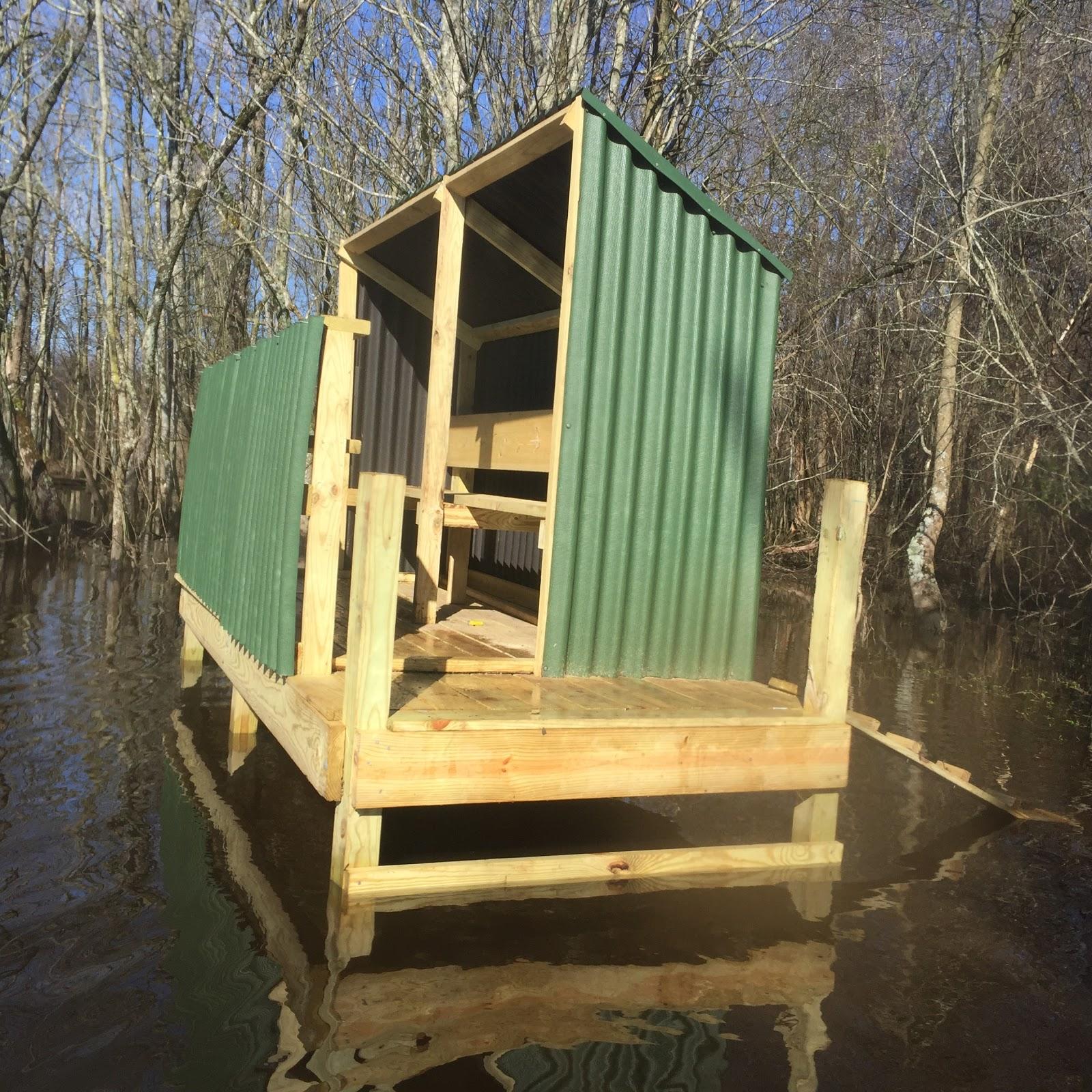 Bear creek plantation nc swamp duck blind design cadillac for Cheap duck house