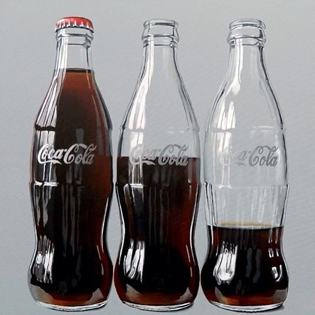 14-Three-Coke-Bottles-Peter-Slade-Hyper-Realistic-Paintings-Acrylic-on-Canvas-www-designstack-co