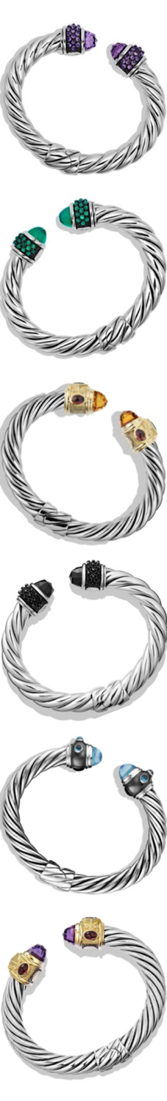 David Yurman Renaissance Assorted Bracelets