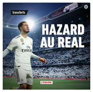 Real Madrid to announce Hazard's '€100 million move' after Europa League Final