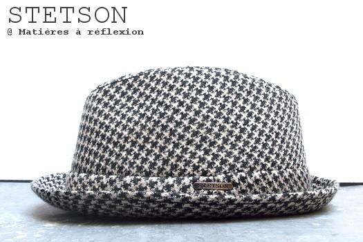 Chapeau femme imprimé Stetson