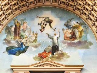 Mural de Emílio Sessa e Aldo Locatelli, Catedral São Luiz Gonzaga [Novo Hamburgo]