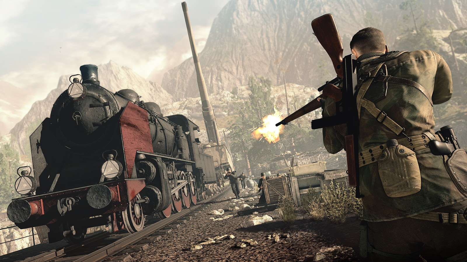 Sniper Elite 4 PC - Sniper Elite 4 For PC
