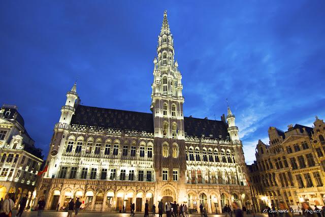 Grand Place en Bruselas por El Guisante Verde Project