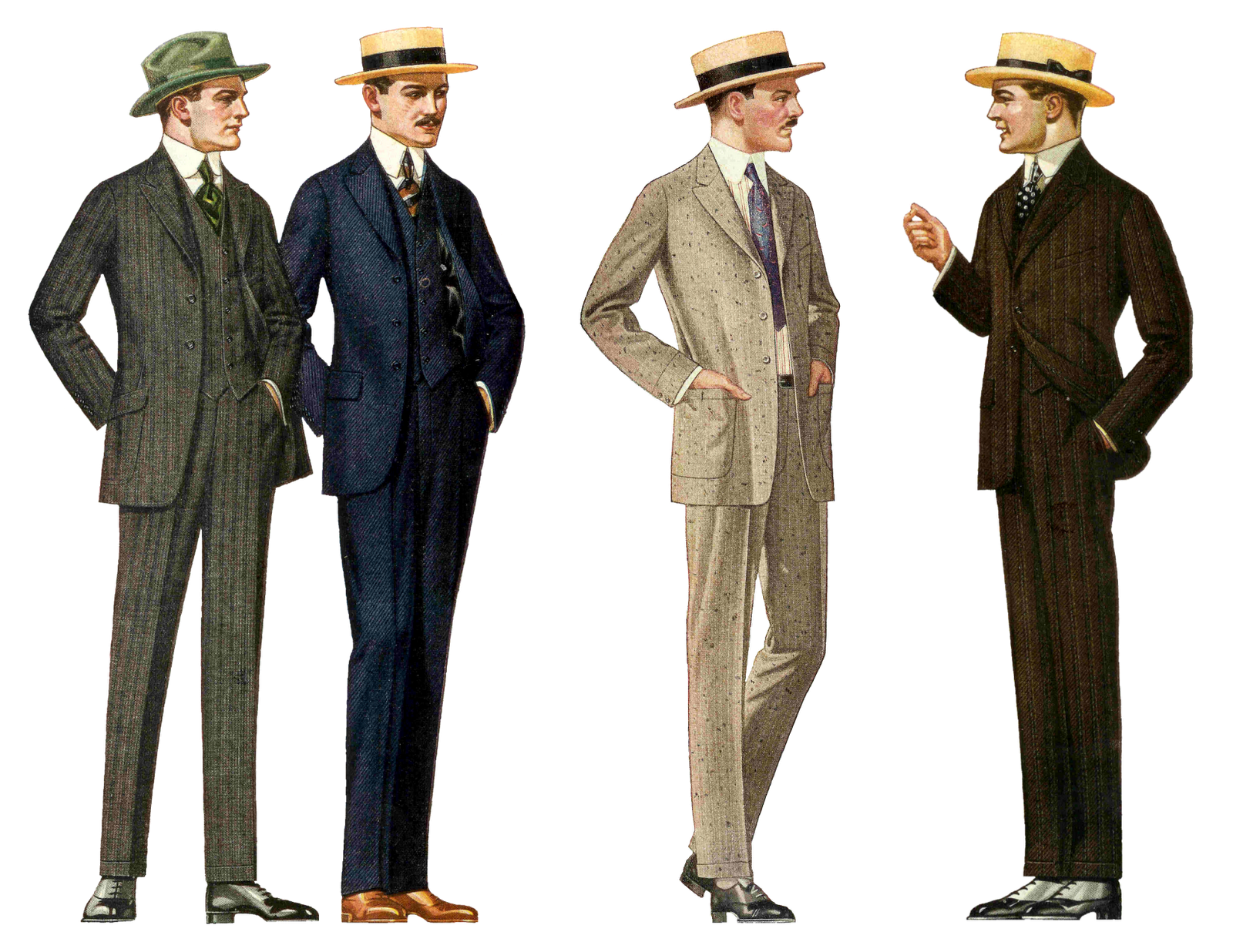Vintage Style Clothing Men