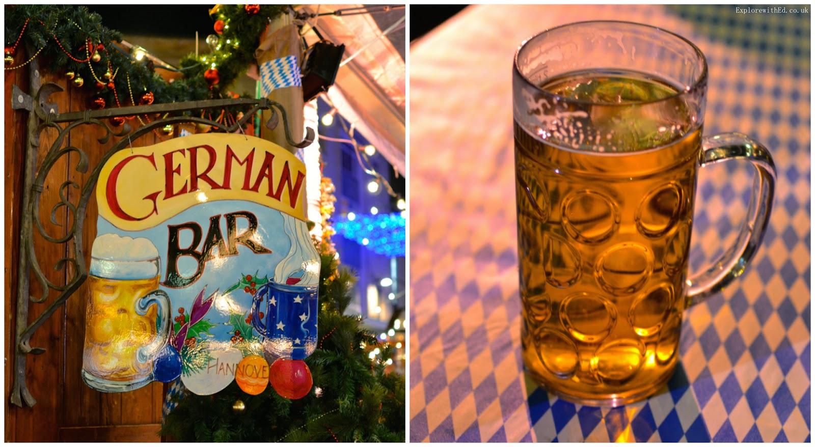 German Christmas Bar in Bristol