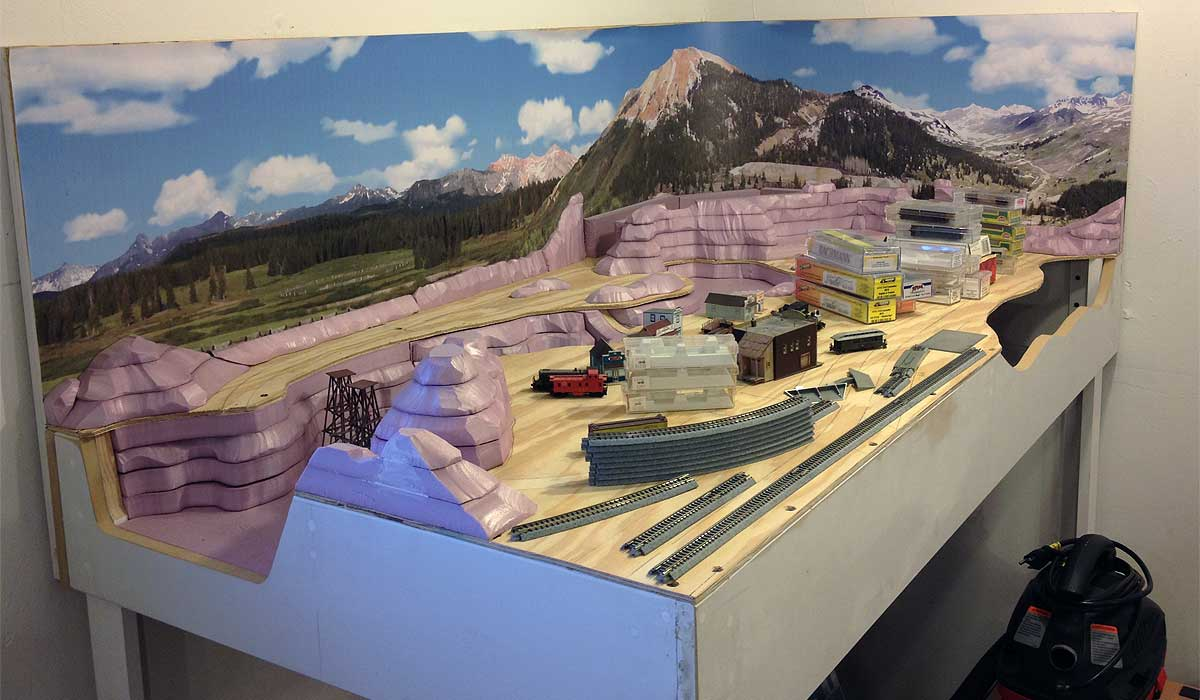 Thunder Mesa Mining Co   A New Plan For The N Scale Pagosa