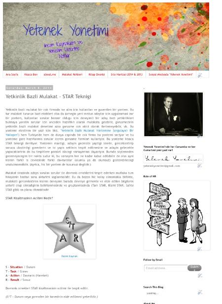 Yetkinlik Bazli Mulakat - STAR Teknigi - 08.03.2014