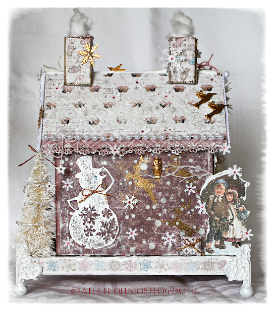 Paper Profusion Christmas In The Pink