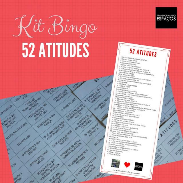Bingo divertido 52 atitudes