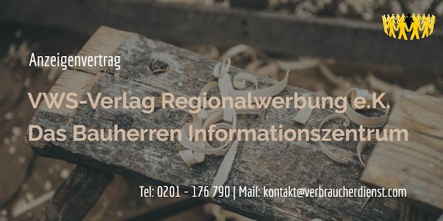 Titelbild: VWS-Verlag Regionalwerbung e.K.  Das Bauherren Informationszentrum