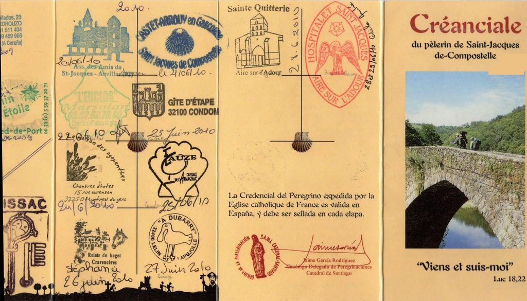 Association des amis du beauvaisis vers compostelle cr anciale ou credencial - Port irlandais en 7 lettres ...