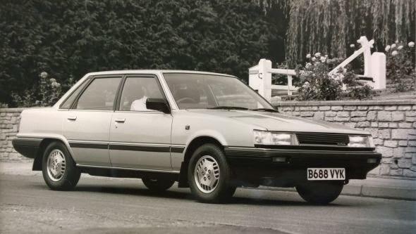 1984 Camry 2.0 GLi -  - Lịch sử các dòng xe Toyota Camry : Đột phá qua từng thế hệ