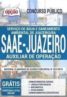 Apostila SAAE Juazeiro 2019 PDF Download e Impressa