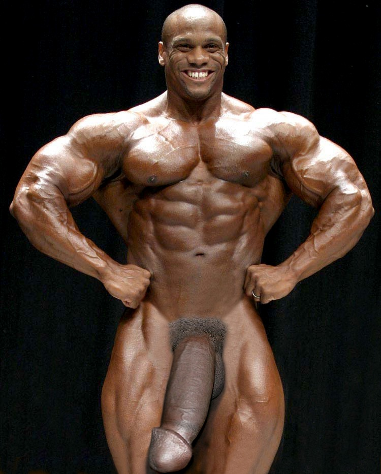 biggest bodybuilder in the world naked