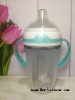 nuby -comfort -bottle -straw -360