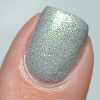 green gray nail polish