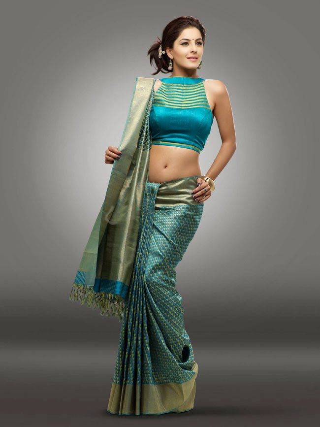 gorgeous Isha talwar in ethnic fashion saree photo shoot gallery