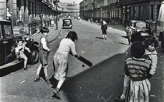 Londyn w latach '50.