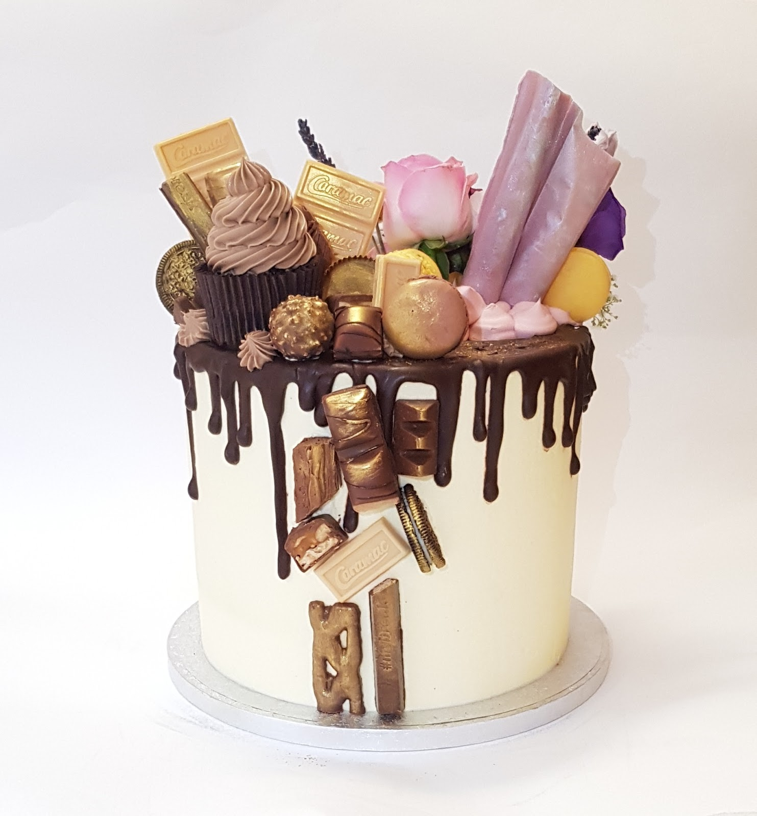 New York Cake Co 21st Birthday Cake Bandteesleatherandlace