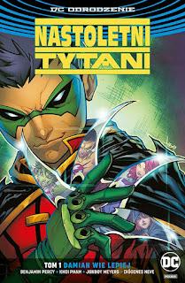 Nastoletni Tytani tom 1: Damian wie lepiej okładka