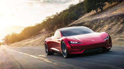 Les voitures les plus rapides du monde - Tesla Roadster (250 Mph)