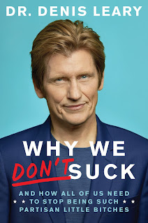 """Denis Leary and his new book, """"Why We Don't Suck!"""" at Andersons Bookshop"""
