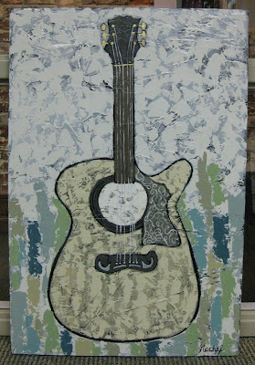 Rachel Rieves | Those Memphis Blues | 24x36 | $350