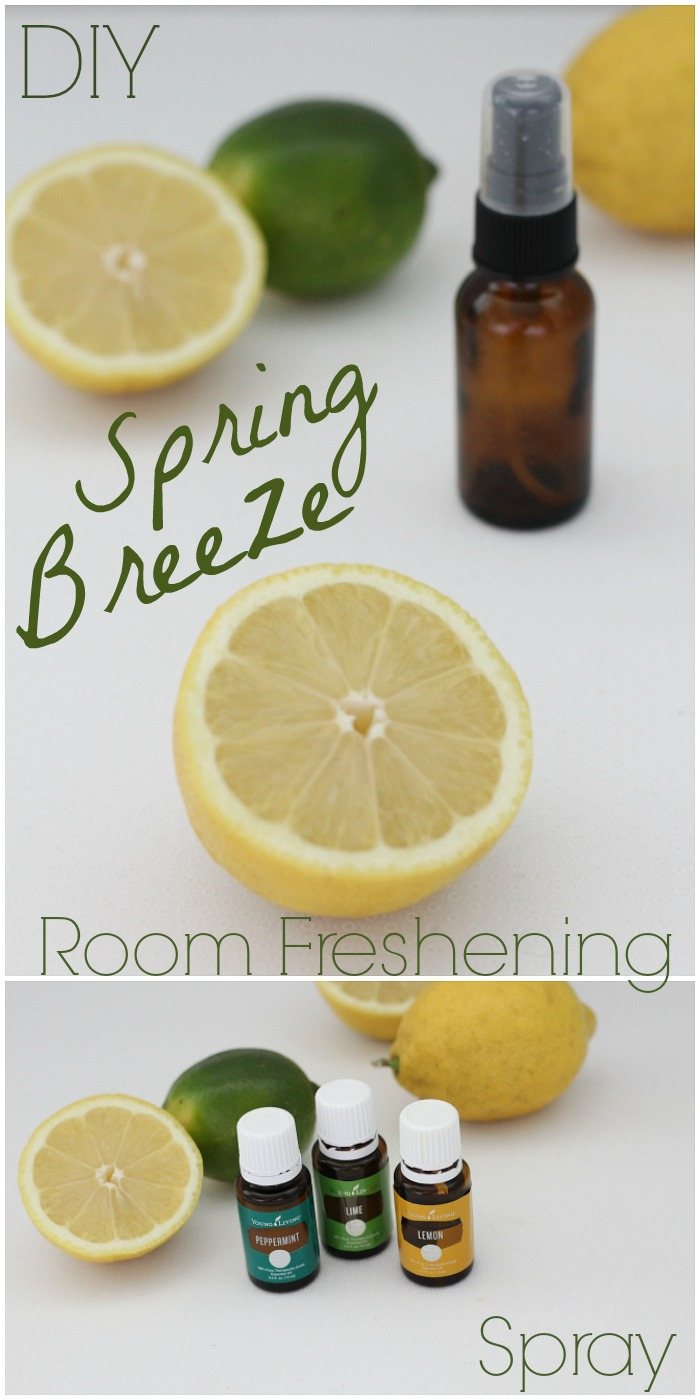 This easy to make room spray smells so fresh!