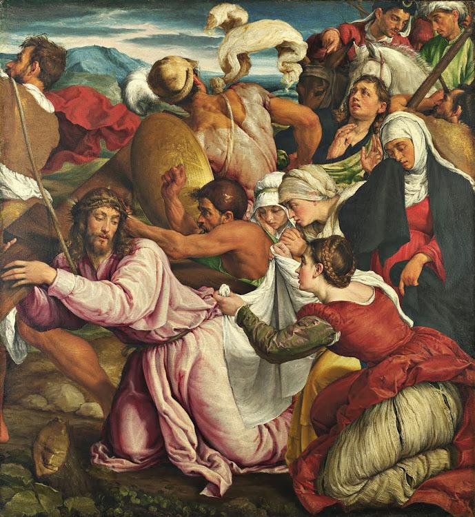 Jacopo Bassano - The Way to Calvary