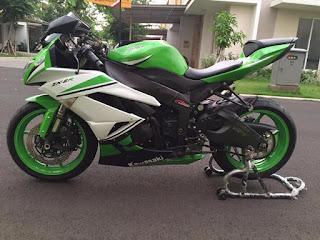 BURSA MOGE MURAH BEKAS : Jual Kawasaki ZX6R Tahun 2012 - JAKARTA