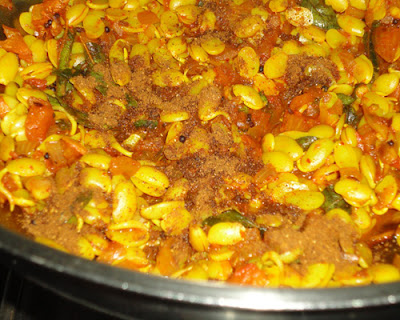 kala masala added