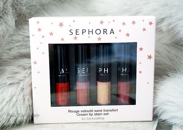 Sephora Cream Lip Stain Set | bellanoirbeauty.com