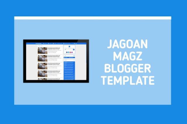 Jagoan Magz Blogger Template