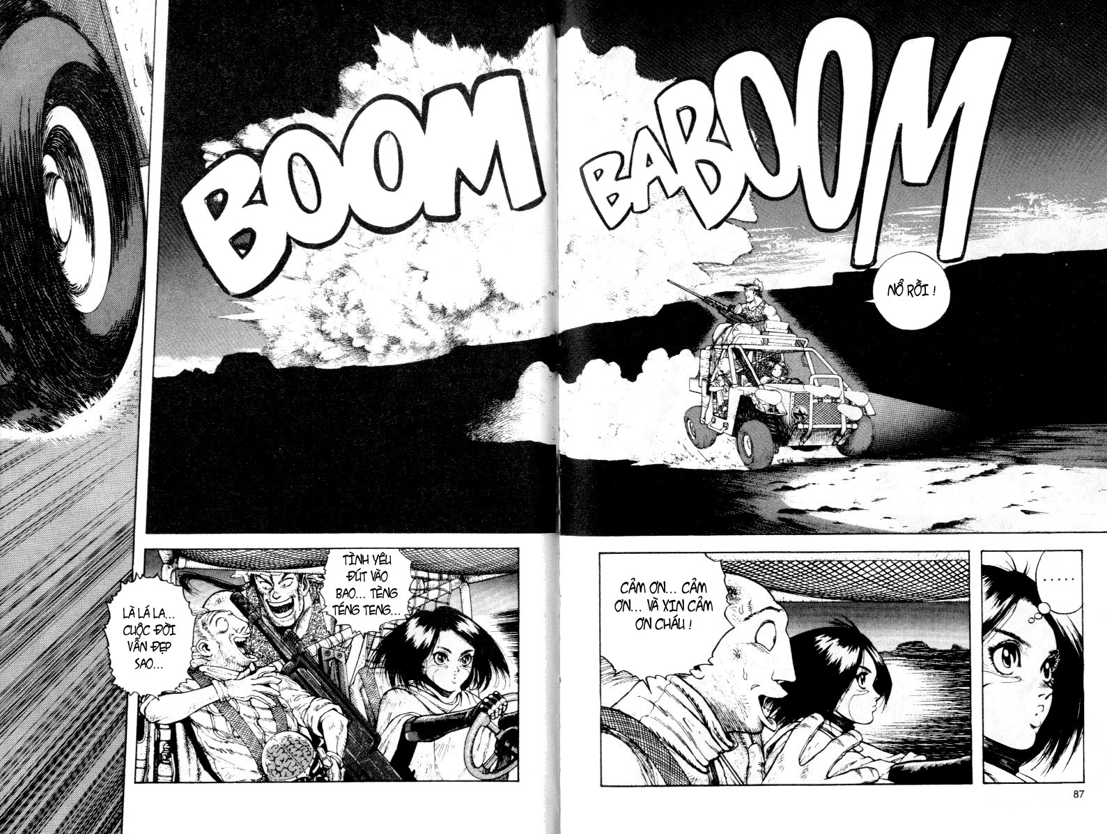 Battle Angel Alita chapter 32 trang 13