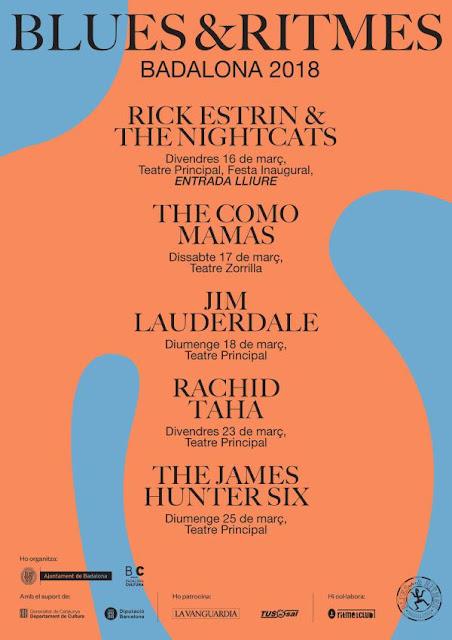 Festival Blues & Ritmes, 2018, Badalona