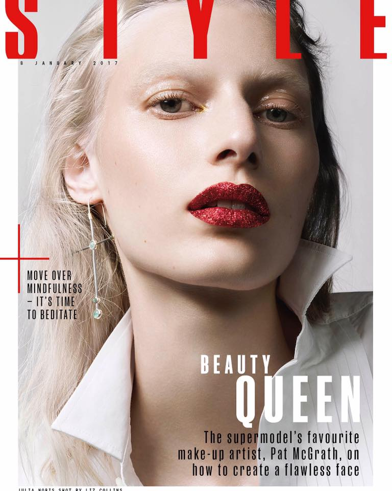 Julia Nobis in The Sunday Times Style January 2017 by Liz ...