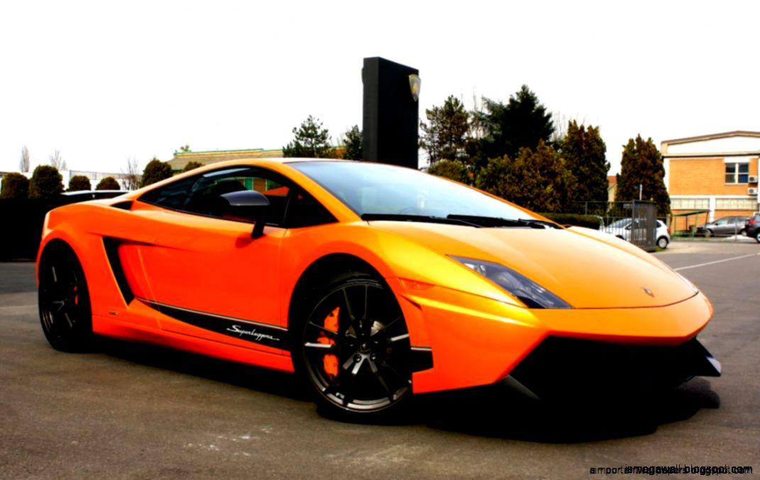 Cars Background Orange Sport Car Mega Wallpapers