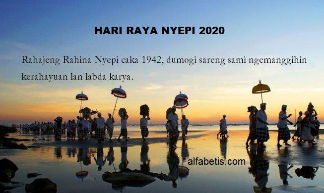 Ucapan Selamat Hari Nyepi Lengkap Untuk Hindu Indonesia