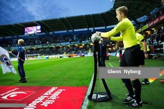Ο Σουηδός Glenn Nyberg σφυρίζει στον επαναληπτικό