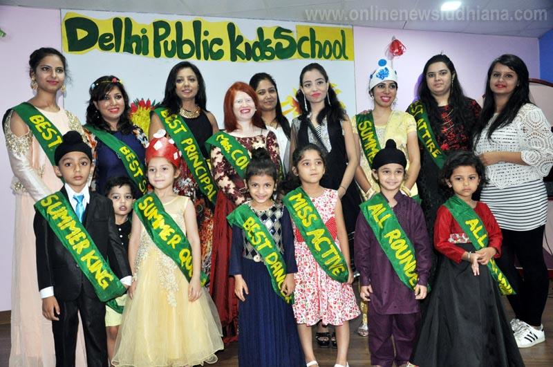 Winners during Summer Camp Organized by Delhi Public Kids School