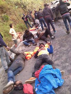 MTV Roadies met accident at Darjeeling 's Pesok view point