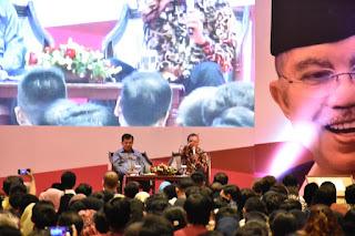 Wapres JK: Saatnya Masyarakat Indonesia Pikirkan Kepentingan Bangsa
